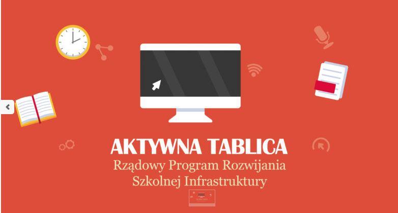 przejdź do naszej podstrony dotyczącej rządowego programu Aktywna tablica