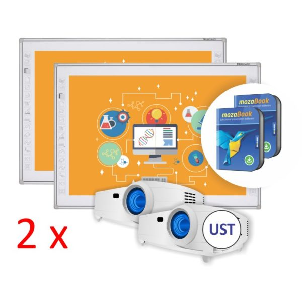 TruBoard R3-800 z projektorem UST i mozaBook