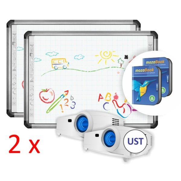 TruBoard R5-800L z projektorem UST i mozaBook