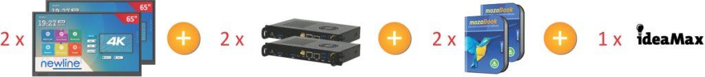 Zestaw 2x TruTouch 6518RS + 2xkomputer OPS + mozabook_sklad