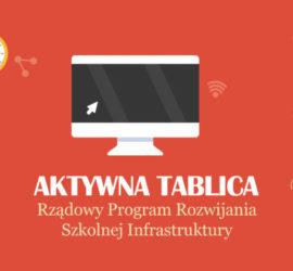 Grafika Rządowego Programu Aktywna Tablica