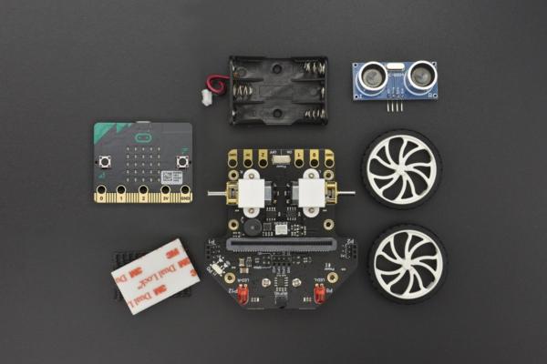 Robot Maqueen - co zawiera zestaw